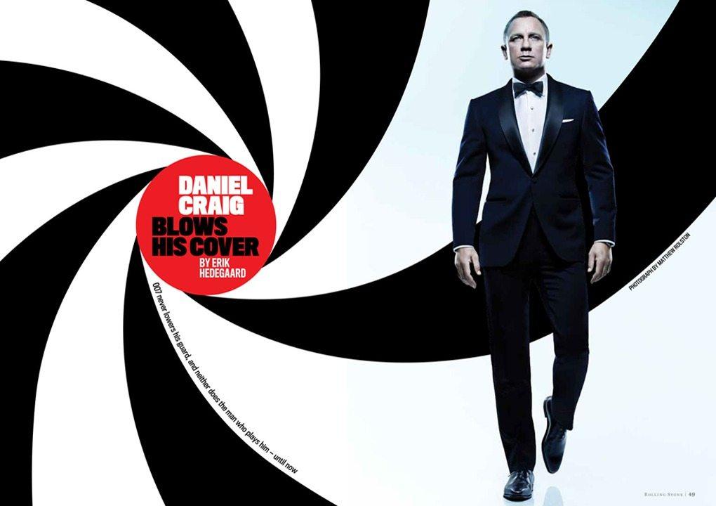 Daniel Craig – Rolling Stone