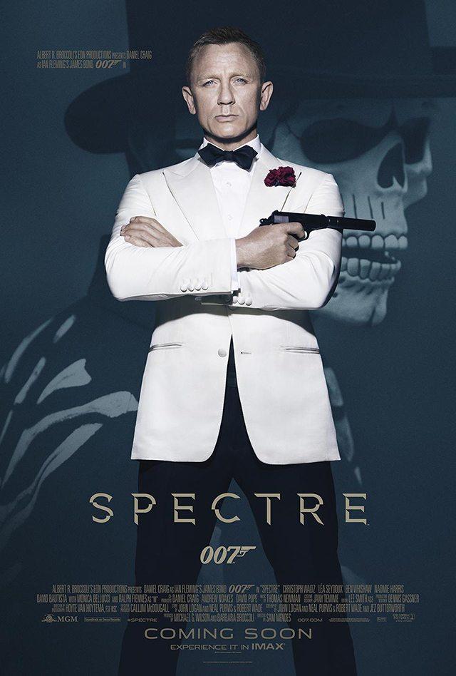 Spectre Daniel Craig Poster 01