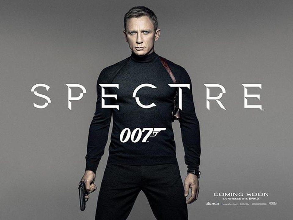 Spectre Daniel Craig Poster 02